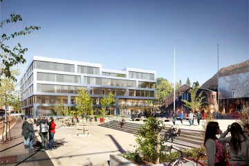 Nå blir det nytt høgskolebygg til over 500 millioner