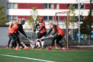 Amerikansk sport tek av i studentbergen