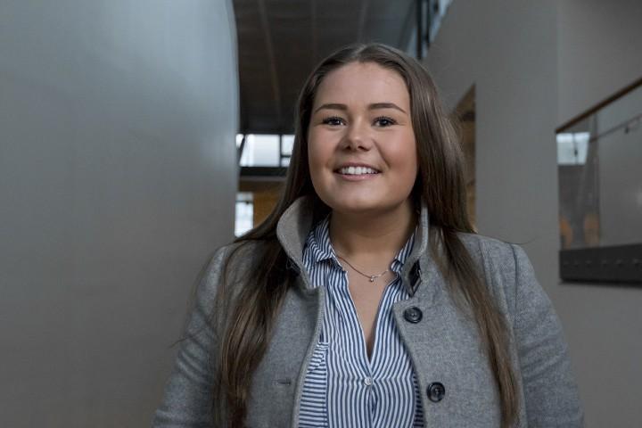 Toril Liaaen (21) er ny BIS-leder og vil engasjere flere studenter