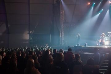 UKEN dropper teltet på Koengen