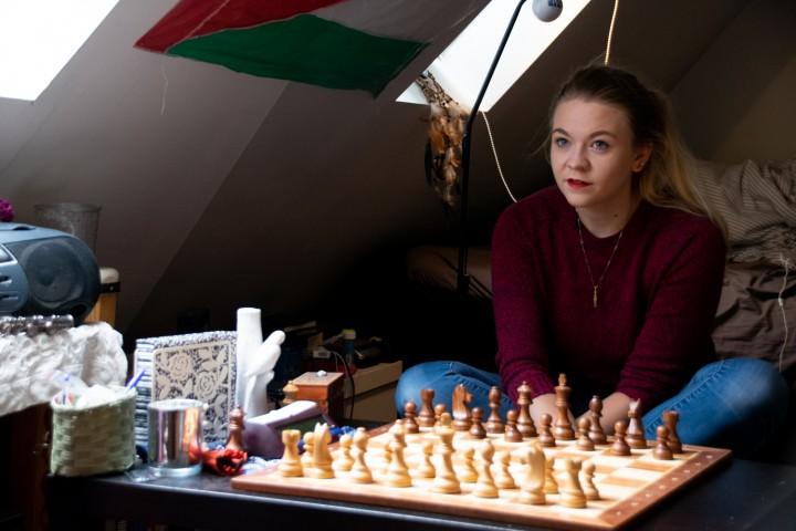 Sara Marie er ikke som andre sjakkspillere