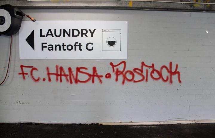 Several cases of tagging at Fantoft