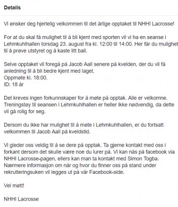FOTO: Skjermdump Facebook