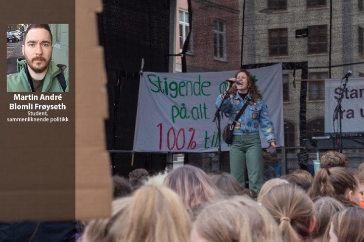 Hei, Blå Liste! Klimakamp er både et individuelt og kollektivt ansvar