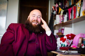 Universitetslektor Kristian Bjørkelo (40) samler på Hello Kitty