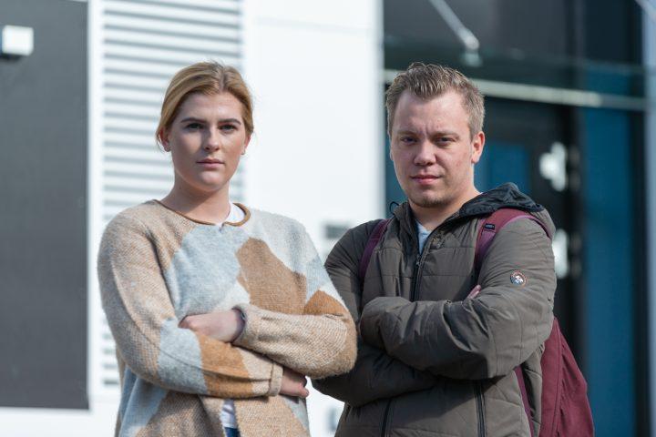 Erik og Frida er lei av brennhete rom på Brann Stadion