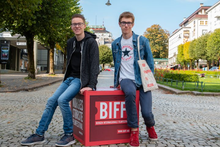 Two volunteers for BIFF share their experience