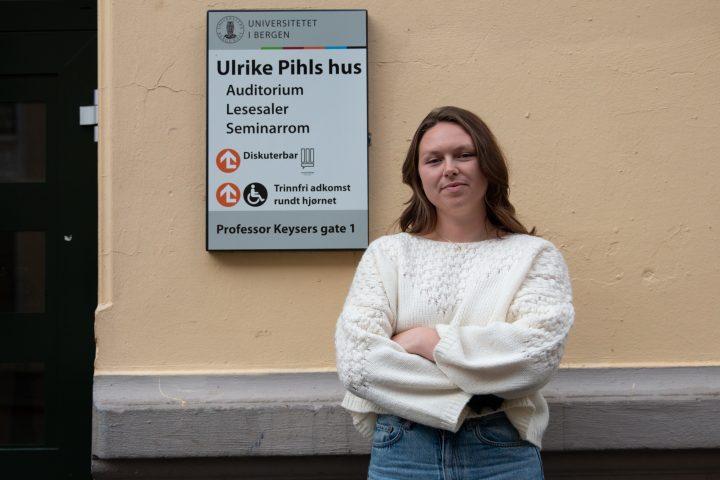 SKEPTISK: Student og fagultvalgsrepresentant er skeptisk til fjerning av pc-saler på u-phil