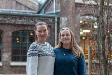 Anna og Lovise ble valgt inn etter hard konkurranse - med samme hjertesak