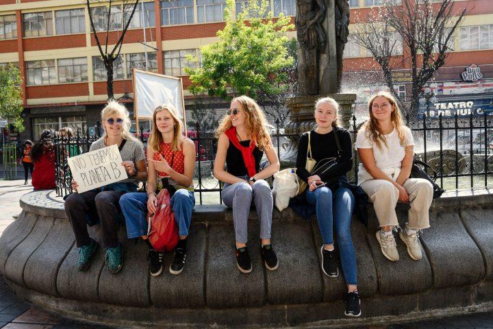 Bergensstudentar i Bolivia reiser frå landet