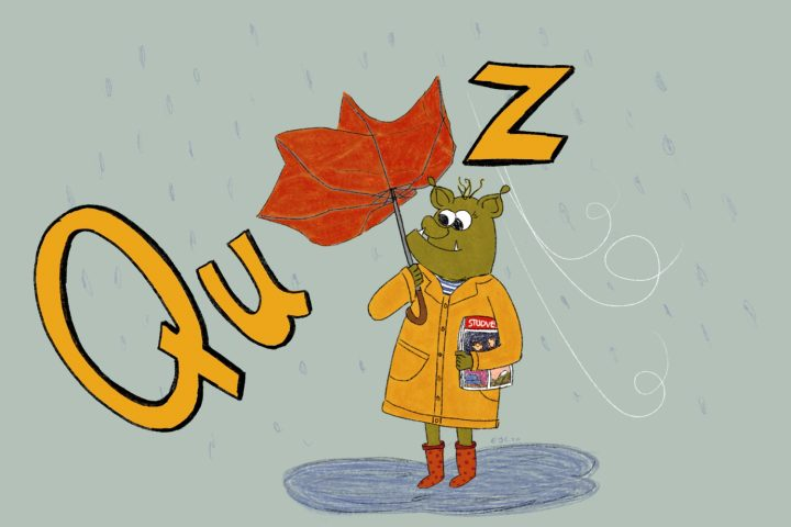 What kind of «rainy» person are you?