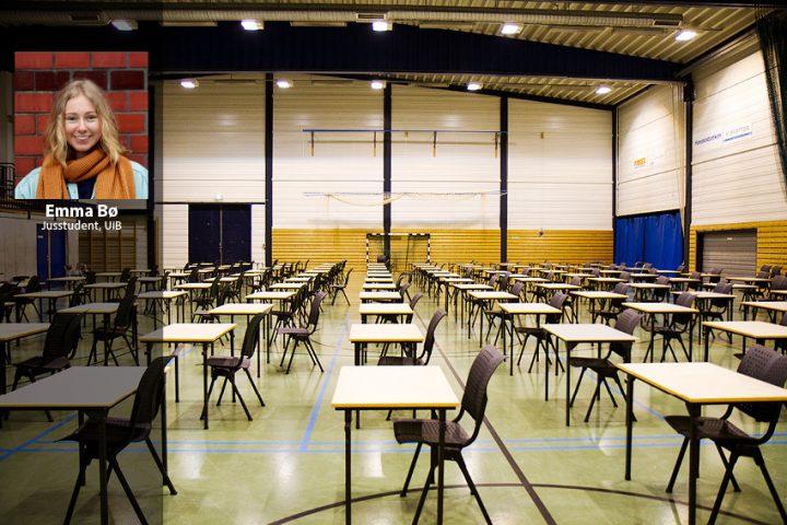 Det juridiske fakultet holder studentene i fryktisolasjon