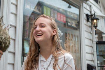 Iryna Kachmar (17) er UiBs yngste student