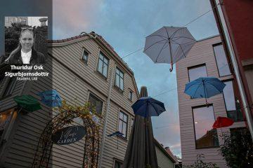 «Det regner alltid i Bergen»