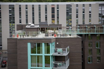 Increase in noise complaints at Fantoft - roof terrace closed
